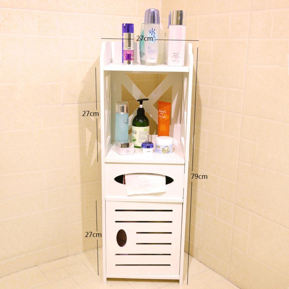 Get Quotations Toilet Side Shelf Bathroom Floor Cabinets Waterproof Narrow