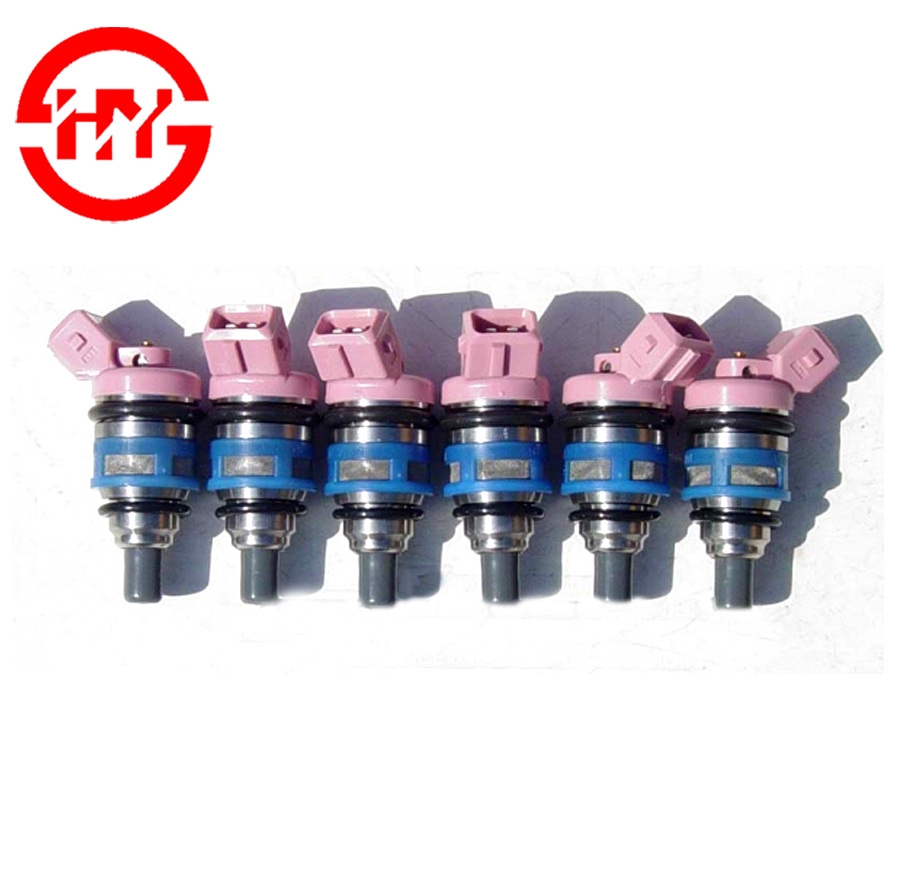 High flow <strong>injector</strong> 1992 2960CC VG30E Car <strong>fuel</strong> System Nozzles <strong>Pink</strong> <strong>fuel</strong> injection OEM 16600-85E01 0N13 2316D