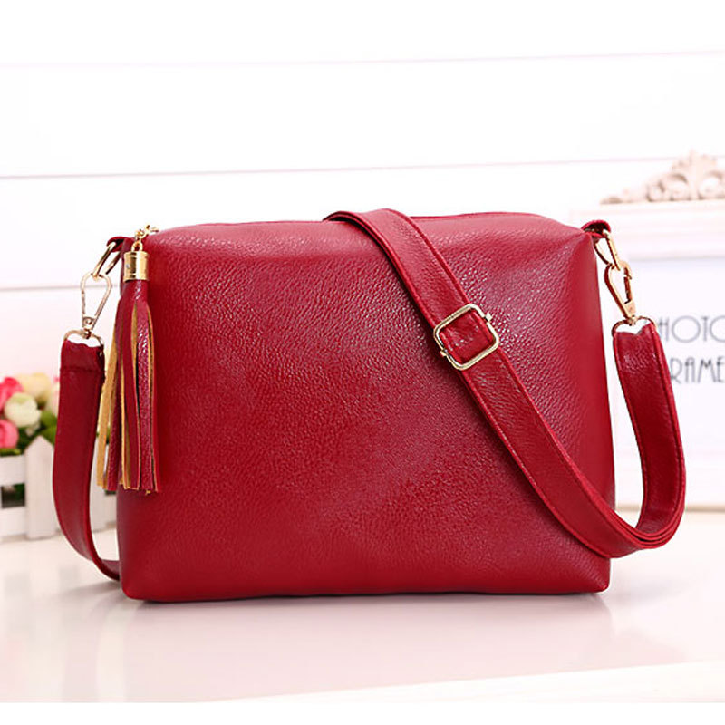 Women S Casual Pu Leather Shoulder