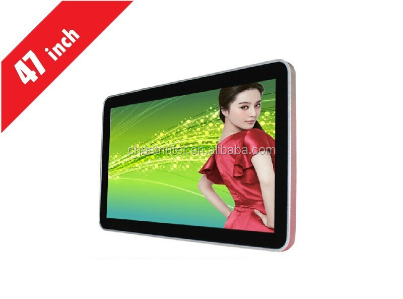 47inch full HD 1080P advertising player touch screen advertising lcd