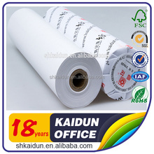China wholesale Best selling premium 210mm thermal fax roll paper