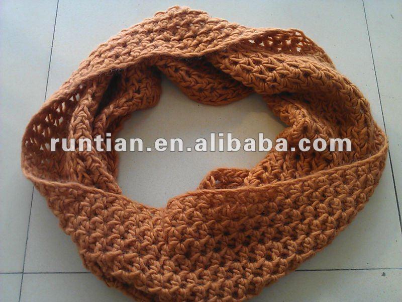 gran descuento 907e9 8dc7b Moda Acrílico Bufanda Crochet Diseño 2012 - Buy Bufanda De ...
