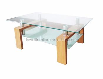 Square Gl Modern Coffee Table New Design Tea Outside