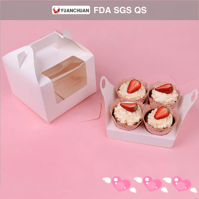 China manufacturers delivery paper cupcake box