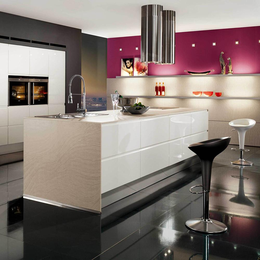 High end moderne ontwerp custom moderne keukenkast ontwerpen ...