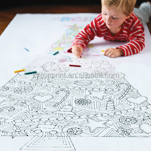 Custom Kids Funny Coloring Wall Poster