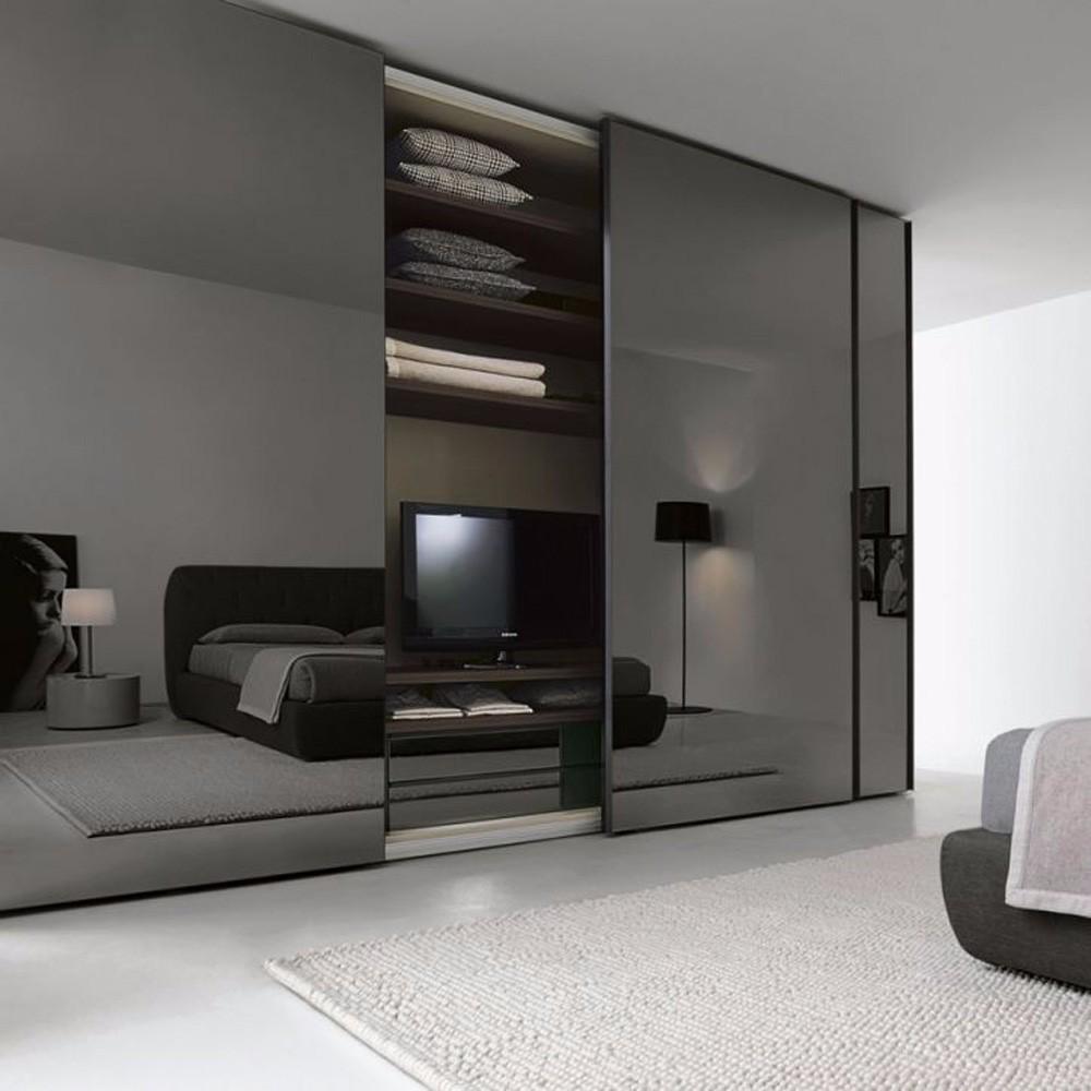 modern-style living room wardrobe designs simple bedroom
