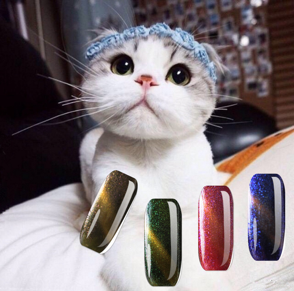 OEM ODM factory 88 colors 5D UV cat eye gel nail polish