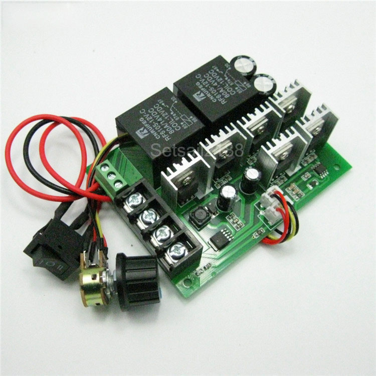 PWM  DC6-60V 30A Motor Speed Controller Module Dimmer Current Display GT