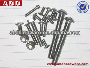 Mushroom Head Square Carriage Bolt (Neck Bolt)for concrete hardware