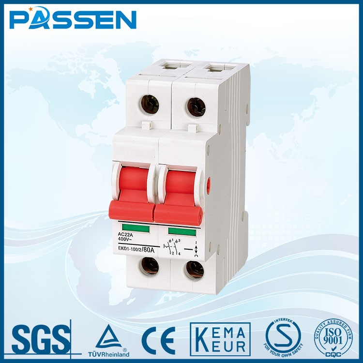 PASSEN China manufacturing new type circuit breakers earth leakage