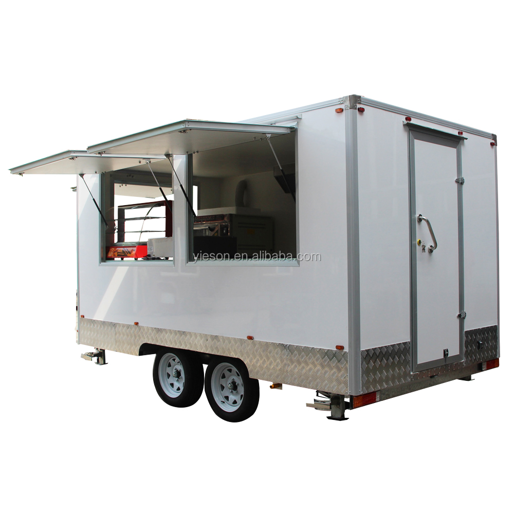 The best selling Catering Food Trailer with CE food vans mobile food carts
