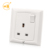 BS 1363 UK standard 13amp wall switched socket outlet