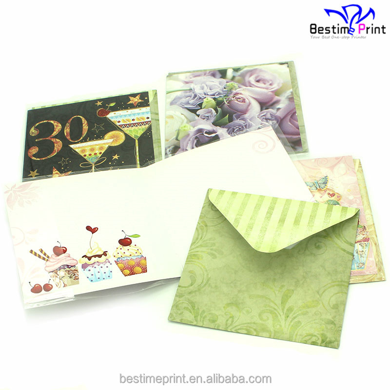 Hot Foil Stamping Greeting Cards Printing Thank You Cards Printing Companies