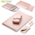 "4 In 1 Laptop Sleeve Voor Macbook Air Pro 13 Case, mannen Zakelijke Laptop Aktetas Tas Lederen 12 ""11.6"" 15.4 ""Inch"