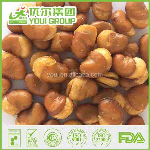 Salted Broad Beans with BRC Certificated For Sale, Wholesale Fave beans/broad beans/Horse beans snacks