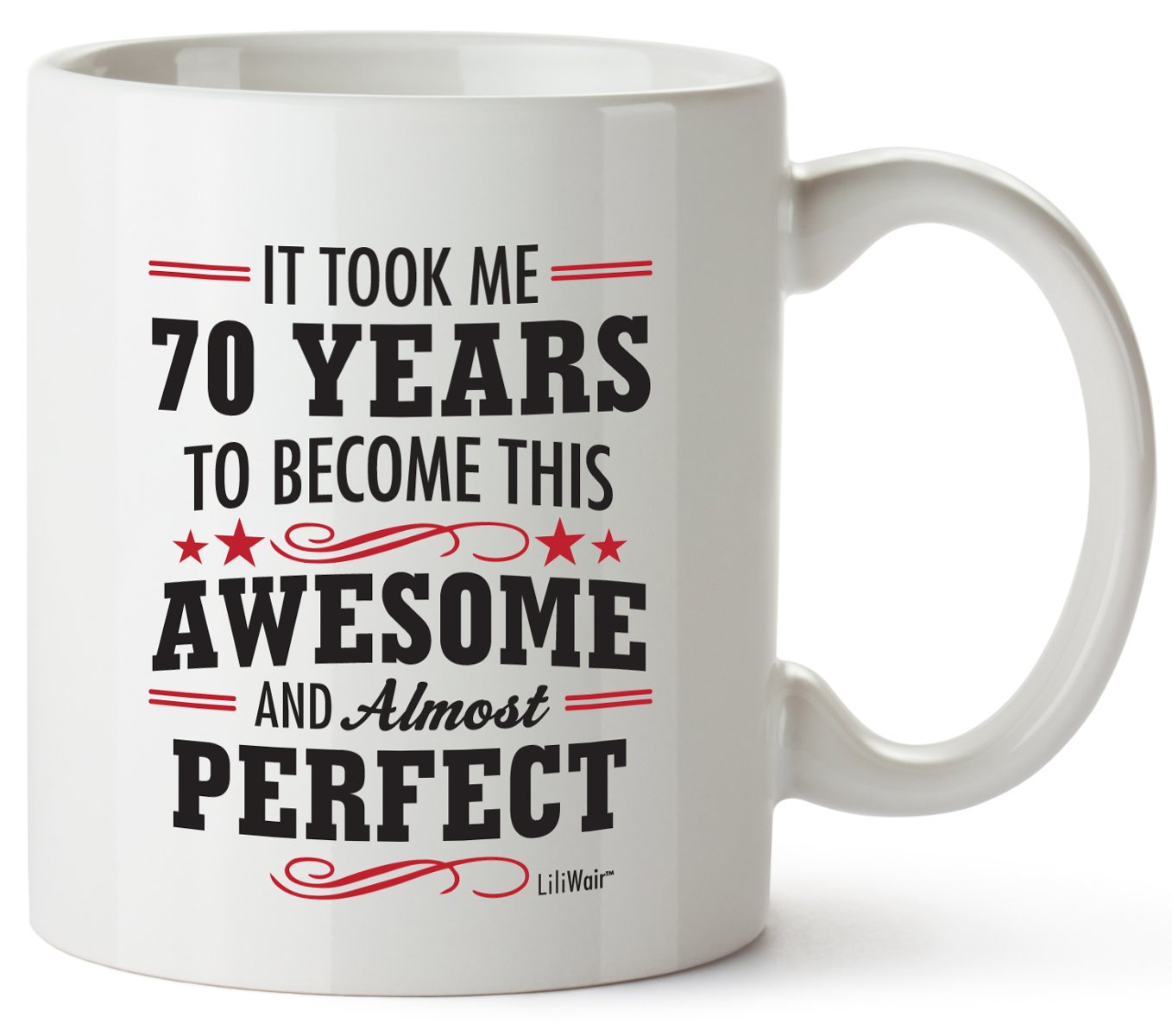 Get Quotations 70th Birthday Gifts For Women Seventy Years Old Men Gift Happy Funny 70 Mens Womens Womans