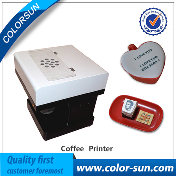 Big Promotion ! Latte Art Coffee Printer Automatic Edible Food Printer for Cookies,Chocolate etc.