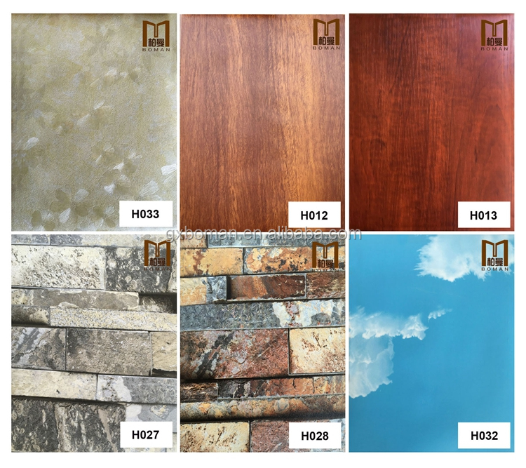 10year warranty!!! lower price of removable plant fiber Customized 3d interior fiber pvc wall panels picture