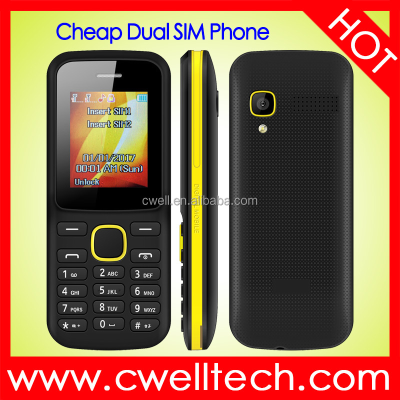 GSM Feature Cell Phone Low Price Handset 1.8 Inch Small Mobile Phone ECON G19