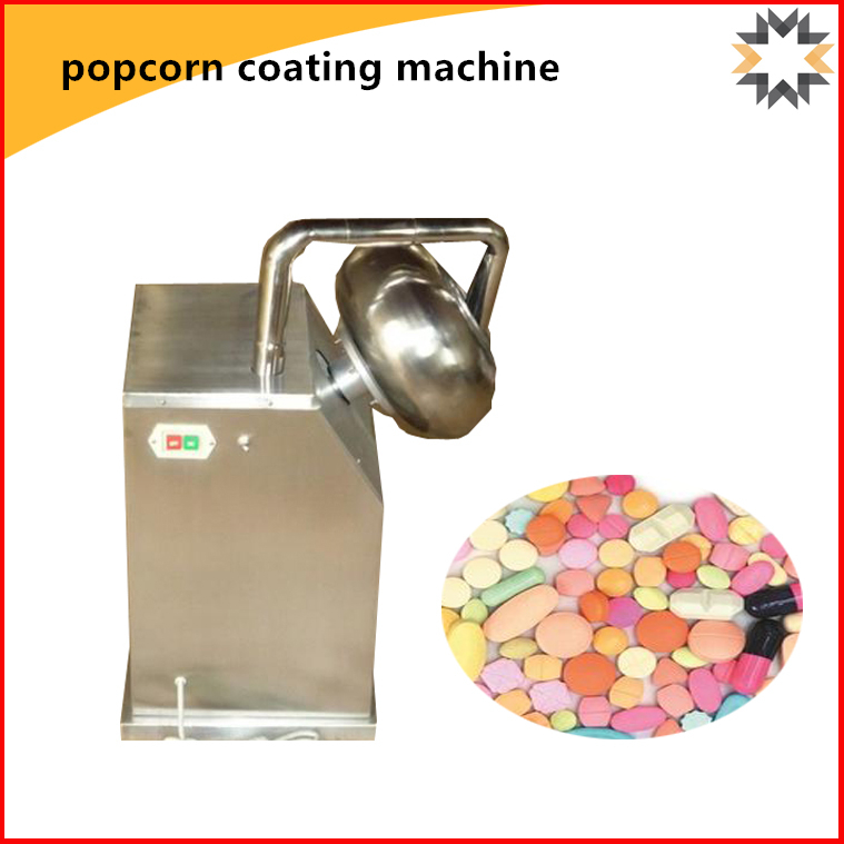 NEWEEK with spray mini 300 sugar caramel popcorn coating machine for sale