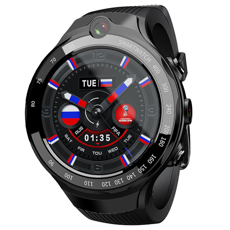 New Zeblaze THOR 4 Dual 4G SmartWatch 2MP Dual Camera Android Watch 1.39AOMLED Display GPS smart watch