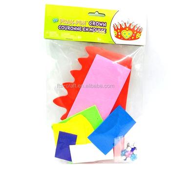 3d Diy Foam Fun Princess Crown For Kids Craft Kits And Eva Foam