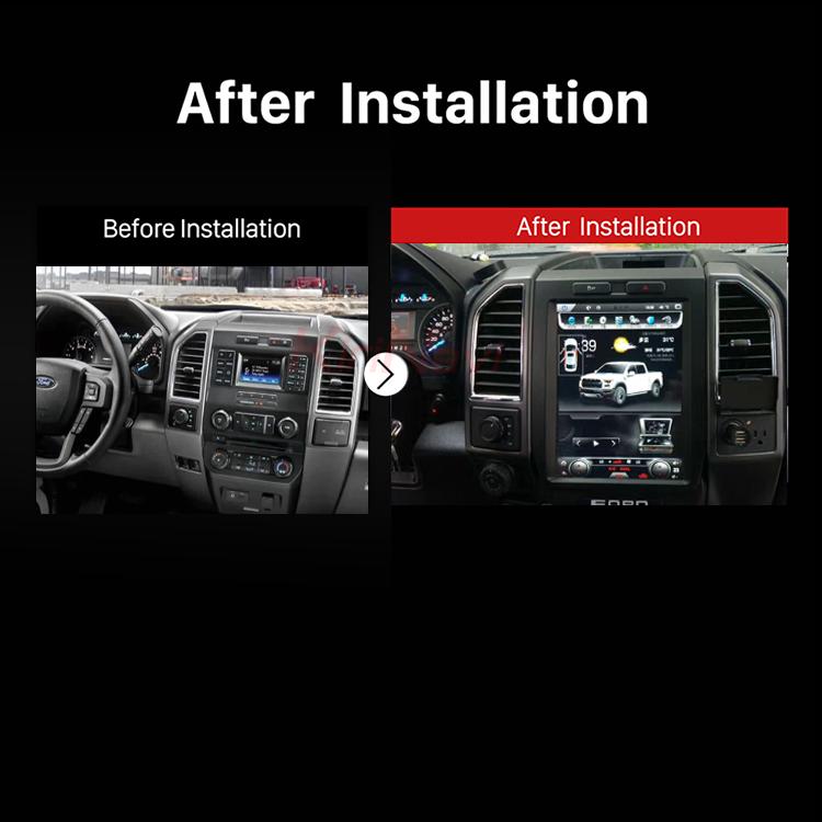 Kirinavi Vertical Screen Tesla Style Android 6 0 12 1