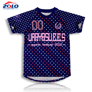 Custom popular sublimation lacrosse shooting shirt designs for men