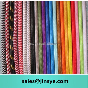 Coloured Fabric Electrical Wire Wholesale Cotton Cord Electrical Cable  Suppliers - Buy Electrical Cable Suppliers,Electrical Wire Wholesale,Cotton