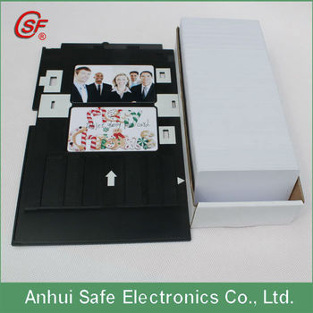 Pvc Id Card Tray Epson R280 R290 R260 Artisan 50 Inkjet-printer Id ...