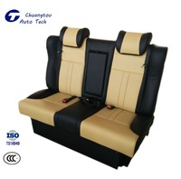 CTZY029 Auto Back Row Seat Luxurious Adjustable Leather Auto Power Back Row Seat