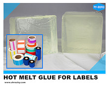 low smell permanent tack hot melt paper label adhesive glue