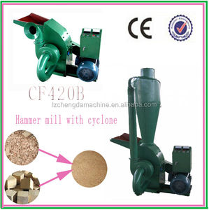 CF420B 7.5kw factory supply directly with CE approval wood chips hammer mill price