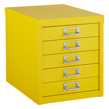Saving Place Desktop 5 Drawer Metal File Cabinet with Lock