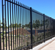 cheap wrought iron fence / aluminum fence / steel fence