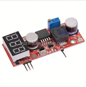 LM2596 DC Adjustable Step-Down Power Supply+Red Display Voltmeter Module