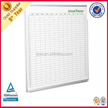 School annual planner decoration magnetic whiteboard calendar