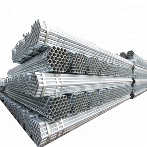 steel fitting 100mm round galvanised hot dipped galvanized pipe