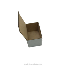 Small corrugated packaging white gift packing box boxes