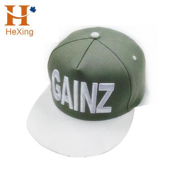 38078024c7a china factory wholesale supreme adjustable 5 panel flat bill brim snap back  hats caps