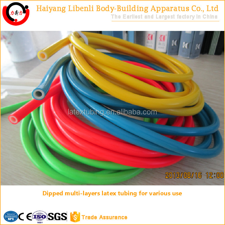 Customized Dipped Or Extruded Natural Latex Tubing For Fitness, Medical, Bungee, Slingshot