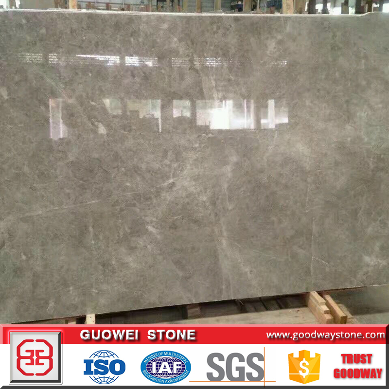 High quality grey marble stone own Turkey quarry block, slabs and tiles