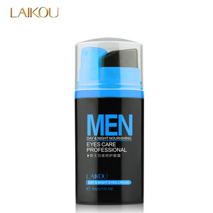 wholesale LAIKOU Men Anti-Wrinkle EYE CREAM Removes Dark Circles Lines Bags Day And Night manufacture