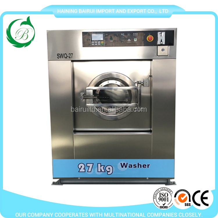 27kg coin/token operated washing machine laundry machine laundry equipment for laundromat