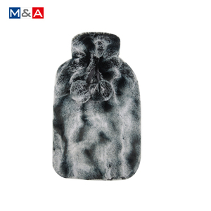 2 liter hot water bottle matching faux fur hot water bottle cover