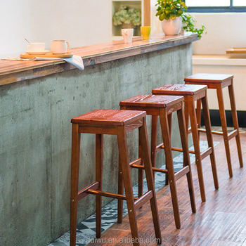 Marvelous Simple Style Modern Wooden Bar Stool Buy Oak Wood Bar Stools Italian Bar Stool Used Bar Stools Product On Alibaba Com Bralicious Painted Fabric Chair Ideas Braliciousco