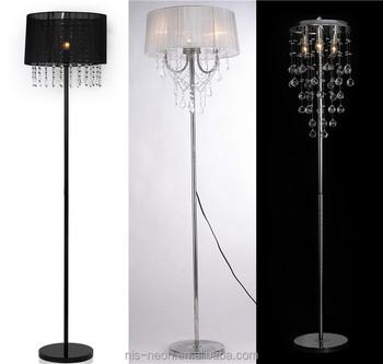 Modern crystal droplets floor chandelier lamp ns 122012 buy modern crystal droplets floor chandelier lamp ns 122012 aloadofball Choice Image
