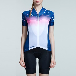 PRO Starry Lanes Women MONTON couples cycling short sleeve jersey