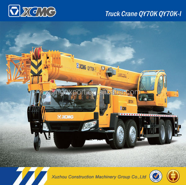 XCMG Official manufacturer QY70K used truck crane product XCMG 70ton truck crane